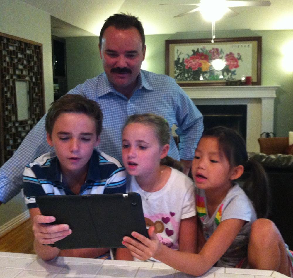 Family-iPad