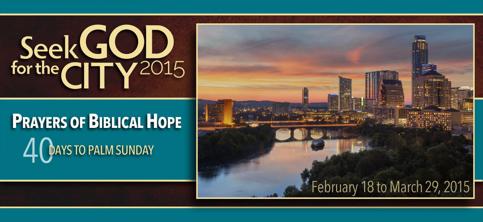 Seek God 2015