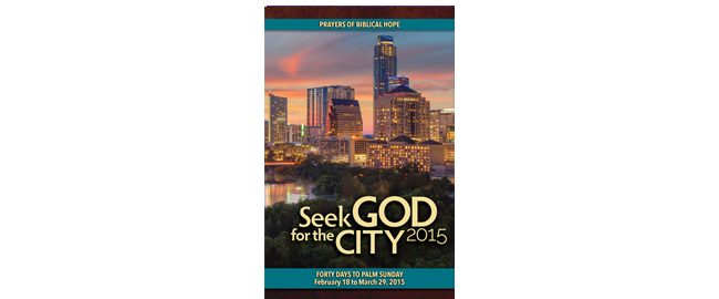 Seek God For The City