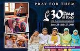 30 Days of Prayer for the Muslim World: 2018