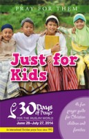 Just for Kids–30 Days of Prayer for the Muslim World 2019